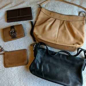 Coach Purse and Accessory Bundle